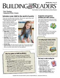 Building Readers Newsletter-February (ENG)