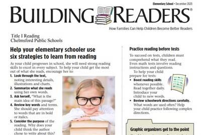 Building Readers Newsletter