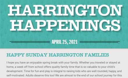 Chelmsford Public Schools Harrington Happenings April 25, 2021